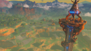 Torre de la meseta en Breath of the Wild