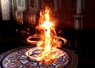 Entei usando giro fuego SSB4 Wii U