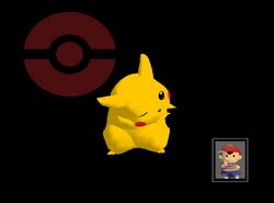 Pose de victoria Pikachu Y (2) SSBM