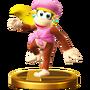 Trofeo de Dixie Kong SSB4 (Wii U)