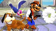 Wild Gunner disparando SSB4 (Wii U)