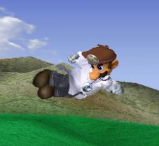 Ataque aéreo hacia atrás de Dr. Mario SSBM