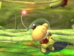 Ataque normal Olimar SSBB (2)