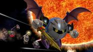Créditos Modo Leyendas de la lucha Meta Knight SSB4 (Wii U)