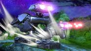 Créditos Modo Leyendas de la lucha R.O.B. SSB4 (Wii U)