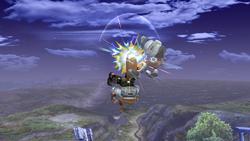 Fox Ataque Aereo Superior, primer golpe-SSBB