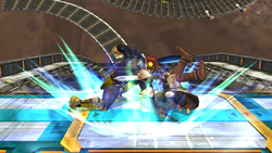 Lanzamiento inferior Captain Falcon SSBB (2)