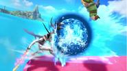 Tiro colmillo dragón Corrin (1) SSB4 (Wii U)
