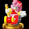 Trofeo de Amy SSB4 (Wii U)