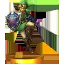 Trofeo de Link SSB4 (3DS)