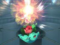 Ataque aéreo superior Ivysaur SSBB