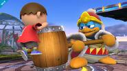 Rey Dedede en el Campo de Batalla SSB4 (Wii U)