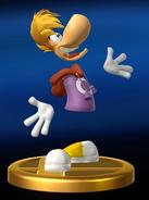 Trofeo Rayman SSB4 (Wii U)