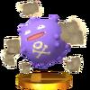 Trofeo de Koffing SSB4 (3DS)