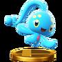 Trofeo de Manaphy SSB4 (Wii U)