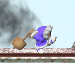Ataque Smash lateral de Ice Climbers (1) SSBM