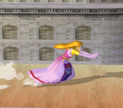 Ataque rápido de Zelda (1) SSBM