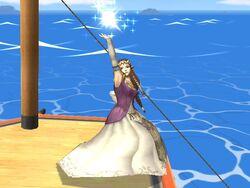 Burla superior Zelda SSBB