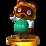 Trofeo de Tom Nook SSB4 (3DS)