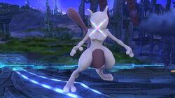 Burla hacia abajo Mewtwo (1) SSB4 (Wii U)