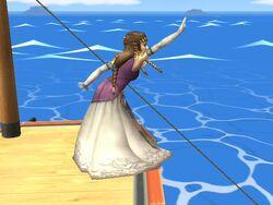 Burla inferior Zelda SSBB