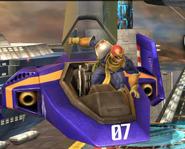 Entrada de Captain Falcon SSB4 (Wii U)