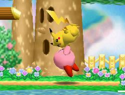 Lanzamiento trasero de Kirby (1) SSB