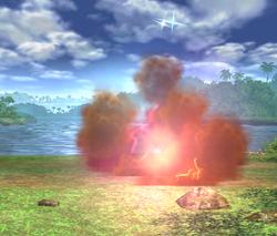 Rayquaza atacando (5-2) ESE SSBB