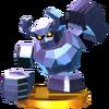 Trofeo de Gólem de diamante SSB4 (3DS)