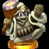 Trofeo de Rey Dedede (alt.) SSB4 (3DS)