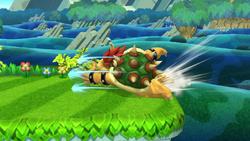 Ataque de recuperación desde el borde de Bowser SSB4 (Wii U)