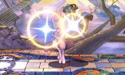 Lanzamiento hacia arriba Mewtwo (2) SSB4 (3DS)