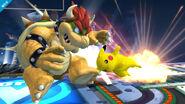 Pikachu realizando cabezazo SSB4 (Wii U)