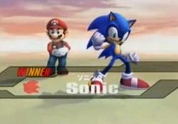 Pose de Victoria de Sonic 2