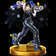 Trofeo de Bayonetta SSB4 (Wii U)