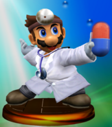 Trofeo de Dr. Mario (Smash 1) SSBM