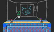 Wario Ware versión omega SSB4 (3DS)