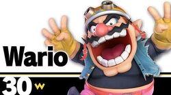 30 Wario – Super Smash Bros