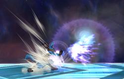 Ataque Smash lateral Lucario SSBB (2)