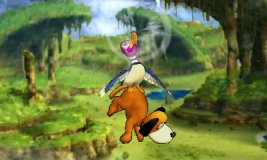 Ataque aéreo superior de Dúo Duck Hunt SSB4 (3DS)