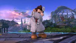 Burla hacia abajo Dr. Mario SSB4 (Wii U)