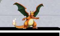 Burla lateral de Charizard SSB4 (3DS)