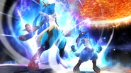 Créditos Modo Senda del guerrero Lucario SSB4 (Wii U)