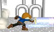 Espadachín Mii Estocadas relampago SSB4 (3DS) (3)
