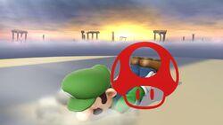 Pose de victoria 1 (1) Luigi SSB4 (Wii U)