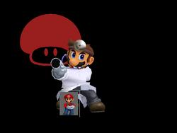 Pose de victoria Dr. Mario X (1) SSBM