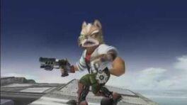 SSBB - Unused Blaster animation (Fox Falco)