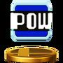 Trofeo de Bloque POW SSB4 (Wii U)