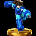 Trofeo de MegaMan Volnutt SSB4 (Wii U)