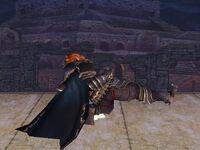 Ataque fuerte inferior Ganondorf SSBB